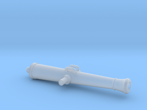 W02.1 6pdr gun tube in Smooth Fine Detail Plastic