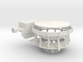 Ponyreitbahn 2.0 - Antrieb 1:220 in White Natural Versatile Plastic
