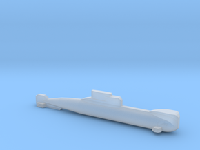 Type 206 submarine, Full Hull, 1/1800 in Smooth Fine Detail Plastic