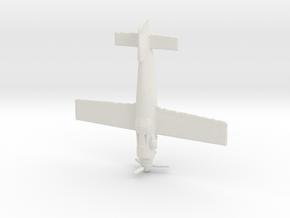 1:144 Hutter Stubo (Gear) in White Natural Versatile Plastic