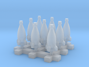 Rocket Bottle 9x 1:58 28mm Scale in Smoothest Fine Detail Plastic