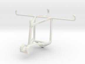 Controller mount for Shield 2017 & HTC Desire 830  in White Natural Versatile Plastic