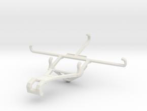 Controller mount for Shield 2017 & Meizu m3e - Fro in White Natural Versatile Plastic