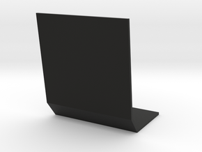 1:32 Pflanzenschutzplatte schmal in Black Natural Versatile Plastic: 1:32