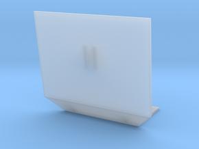 1:32 Pflanzenschutzplatte breit in Smooth Fine Detail Plastic: 1:32