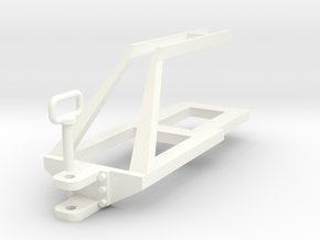 1:32 Agrisem Agromulch Anhängepunkt in White Processed Versatile Plastic: 1:32