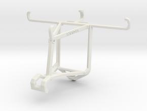 Controller mount for Shield 2017 & Wiko U Feel Lit in White Natural Versatile Plastic