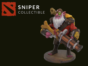 Sniper in Full Color Sandstone