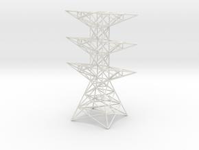 pylon in White Natural Versatile Plastic