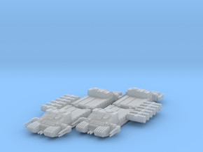 1/270 TX-225 GAVw 'Occupier' Tanks & Cargo (4) in Frosted Ultra Detail
