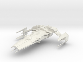 Sith Recluse Fighter in White Natural Versatile Plastic