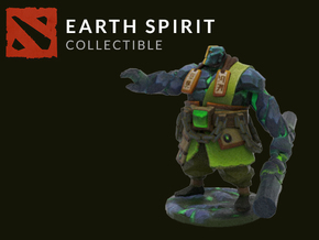 Earth Spirit in Full Color Sandstone
