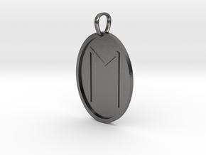 Eoh Rune (Anglo Saxon) in Polished Nickel Steel