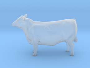 1/64 Yearling Heifer 03 in Smooth Fine Detail Plastic
