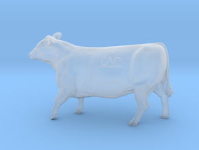 1/64 Yearling Heifer 01 in Smooth Fine Detail Plastic