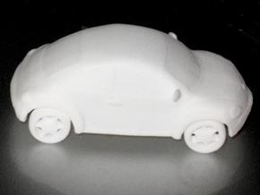 Beetle in White Natural Versatile Plastic
