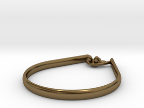 Rope Sitter ring in Polished Bronze: 9 / 59