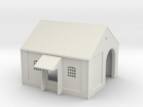 z-76-brick-goods-shed-1 in White Natural Versatile Plastic