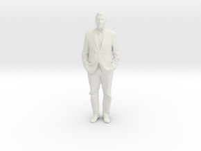 Printle F Homme Fred Astaire - 1/18 - wob in White Natural Versatile Plastic