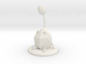 Rock Pikmin in White Natural Versatile Plastic