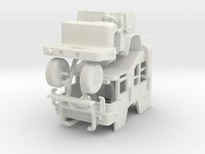 1/64 Pierce Quantum Squad cab in White Natural Versatile Plastic