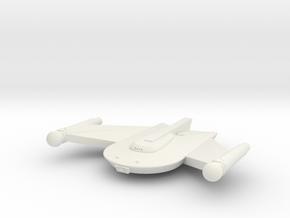 3788 Scale Romulan Snipe Frigate MGL in White Natural Versatile Plastic