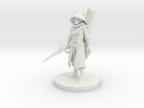 Warlock Bard in White Strong & Flexible