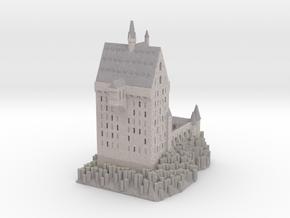 1/720 Hogwarts - Clock Tower in Full Color Sandstone