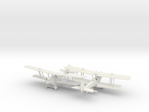 1/144 RAF RE 8 x2 in White Strong & Flexible