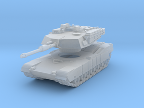 MG160-US01A.1 M1A1 MBT (no MGs) in Smooth Fine Detail Plastic