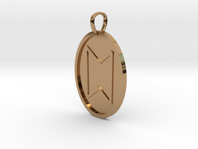 Stan Rune (Anglo Saxon) in Polished Brass