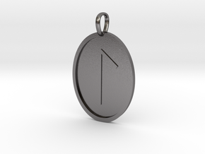 Lagu Rune (Anglo Saxon) in Polished Nickel Steel
