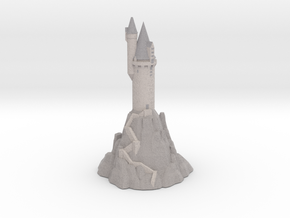 1/720 Hogwarts - Owlery in Full Color Sandstone