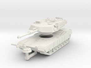 MG160-US01A M1A1 MBT in White Natural Versatile Plastic