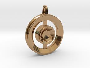 Origin ::: Circle Pendant ::: v.01 in Polished Brass