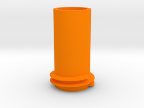 Nerf mega bigshock barrel attachment point in Orange Processed Versatile Plastic