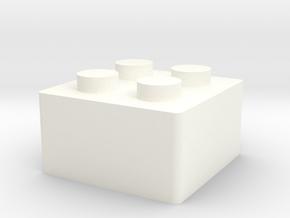 LegoKeycap in White Processed Versatile Plastic