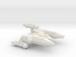 3125 Scale Lyran Alleycat War Destroyer (DW) CVN in White Natural Versatile Plastic