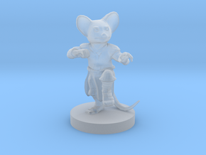 Mousefolk Monk in Smooth Fine Detail Plastic