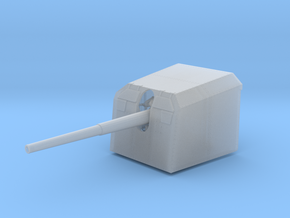 1/45 DKM 12.7cm (5in) SK C/34 naval gun in Smooth Fine Detail Plastic