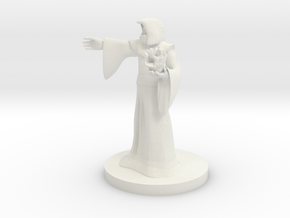 Human Male Sorcerer in White Strong & Flexible