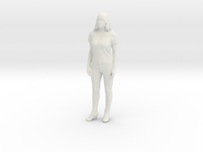 Printle F Femme Chimene Badi - 1/18 - wob in White Natural Versatile Plastic
