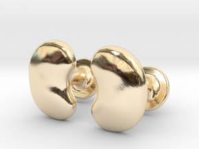 Milnerfield Salk Cufflinks - Pair in 14k Gold Plated Brass