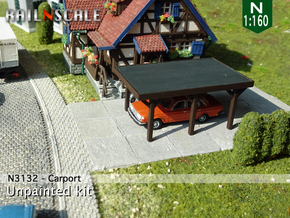 Carport (N 1:160)  in Frosted Ultra Detail
