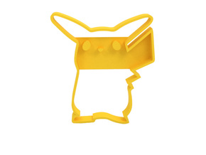Cookie cutter in Yellow Strong & Flexible Polished