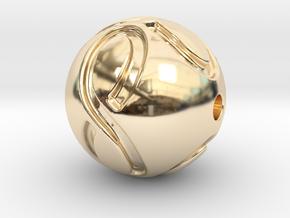 infinite pearl in 14K Yellow Gold