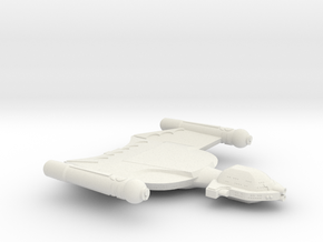 3788 Scale Romulan King Condor Battleship MGL in White Natural Versatile Plastic