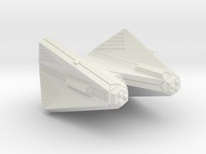 3125 Scale Tholian Heavy Cruiser (CA) SRZ in White Natural Versatile Plastic