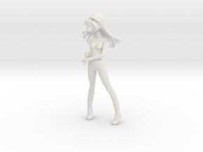 1/7.5 Asuka Nude Umbrella Pose in White Strong & Flexible