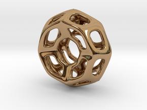 Nest ::: Circle Pendant ::: v.01 in Polished Brass